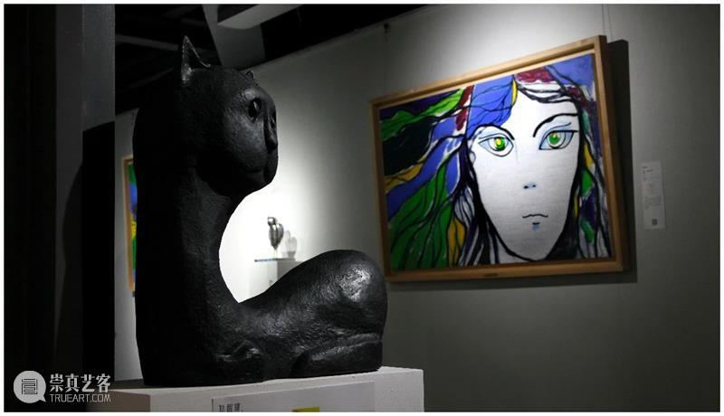 北京当代艺博会2021特别艺术项目|张郎郎的异想童画 艺术 张郎郎 北京 项目 艺博会 异想 童画 画廊 空间 内景 崇真艺客