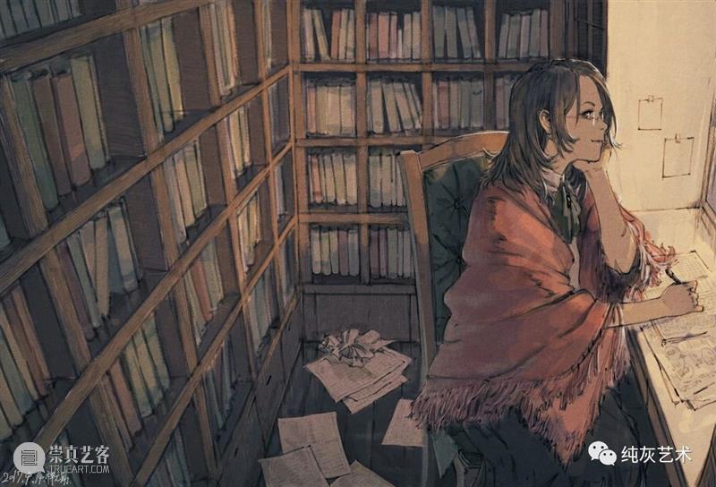 有复古氛围的人物场景插画 人物 插画 场景 氛围 日本 漫画 设计师 插画师 氛围感 艺术 崇真艺客