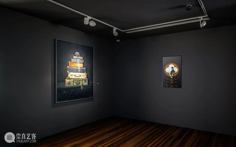 「松」回顾   北京偶遇名人概率最高的美术馆展览 美术馆 北京 名人 概率 松美术馆 陈漫 宋易格 双人展 之间 帷幕 崇真艺客