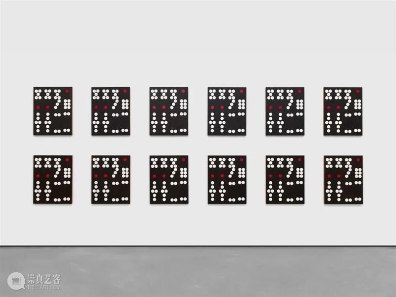 谢丽·利文(Sherrie Levine)的绘画游戏:《香港多米诺》 谢丽 利文 Levine 香港 多米诺 Sherrie 游戏 作品 上图 局部 崇真艺客