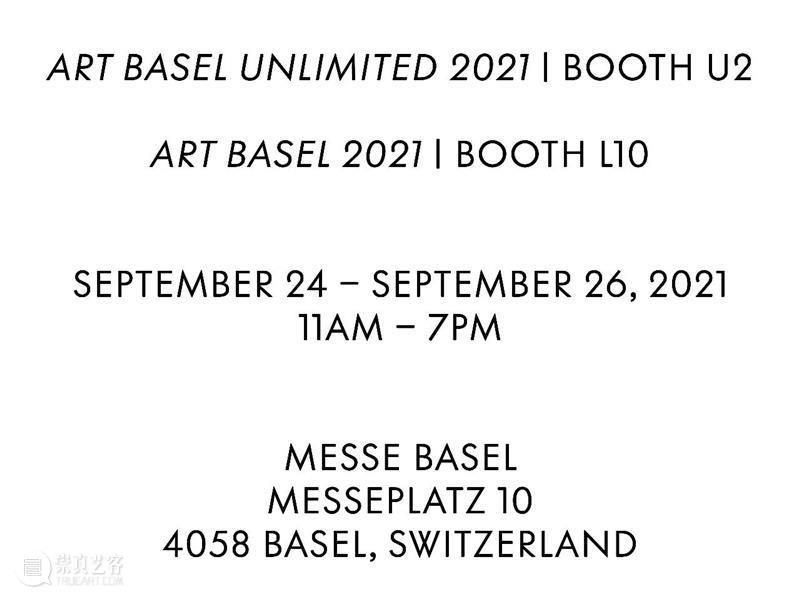 Salon 94参加2021年瑞士巴塞尔艺博会(L10)和意象无限(U2) Salon 瑞士巴塞尔 艺博会 意象 莱尔 阿什顿 哈里斯 Lyle Ashton Harris 崇真艺客