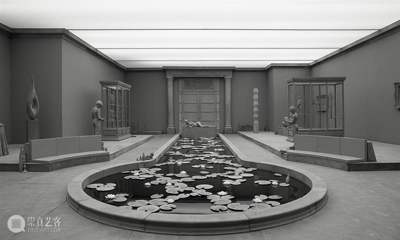 Hans Op de Beeck创造的色彩抽离的寂寥雕塑世界 雕塑 色彩 世界 中国 艺术 CPA 门户 北京中城雕艺术设计院 中国建筑文化中心公共艺术部联合主办 全球 崇真艺客