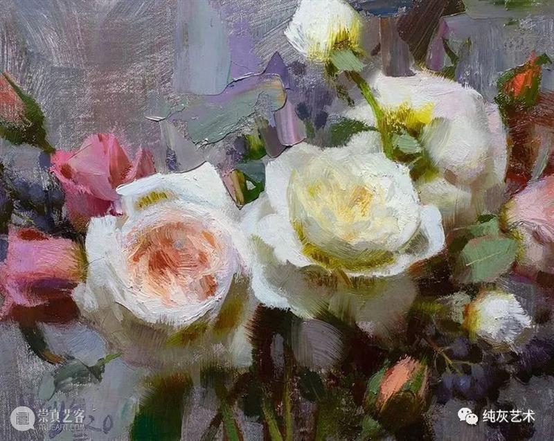 花开的时候 时候 美国 画家 Daniel 色彩 花卉 画笔 表现力 风景 人物 崇真艺客