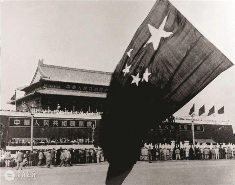 The Five-Starred Red Flag at the founding ceremony in 1949 Five Gao Liang 线上 通道 崇真艺客