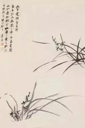 绘画丨18幅张大千国画兰花图 国画 张大千 兰花 绘画 上方 中国舞台美术学会 右上 星标 本文 兰花图 崇真艺客