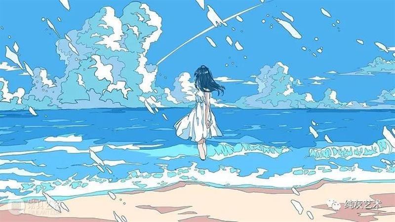 粉蓝色的回忆 蓝色 回忆 插画师 画面 气泡 海底 梦幻 场景 动漫 模样 崇真艺客