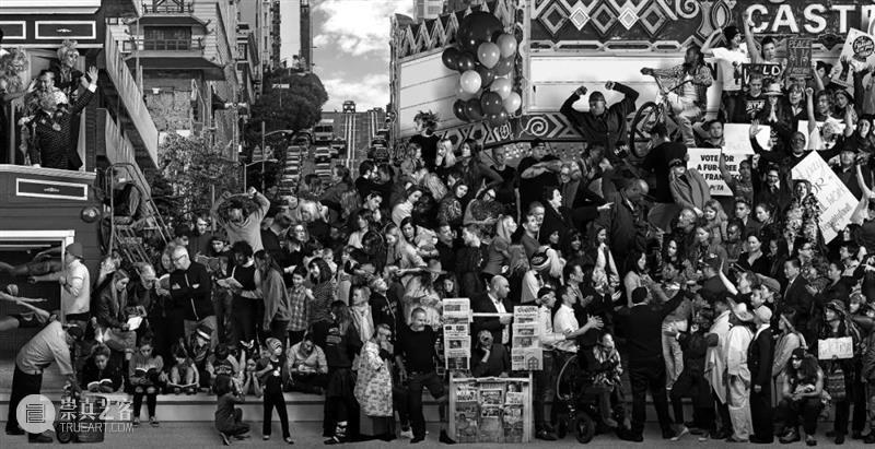 伦敦看展 | JR:编年史 伦敦 编年史 JR:编年史 地点 萨奇美术馆 时间 画展 习惯 作品 之前 崇真艺客