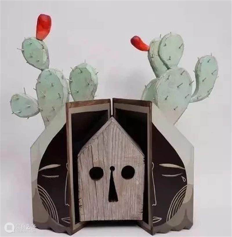 雕塑丨童趣十足!艺术家Jaime Molina的钉子木雕 雕塑 艺术家 Molina 钉子 童趣 木雕 上方 中国舞台美术学会 右上 星标 崇真艺客