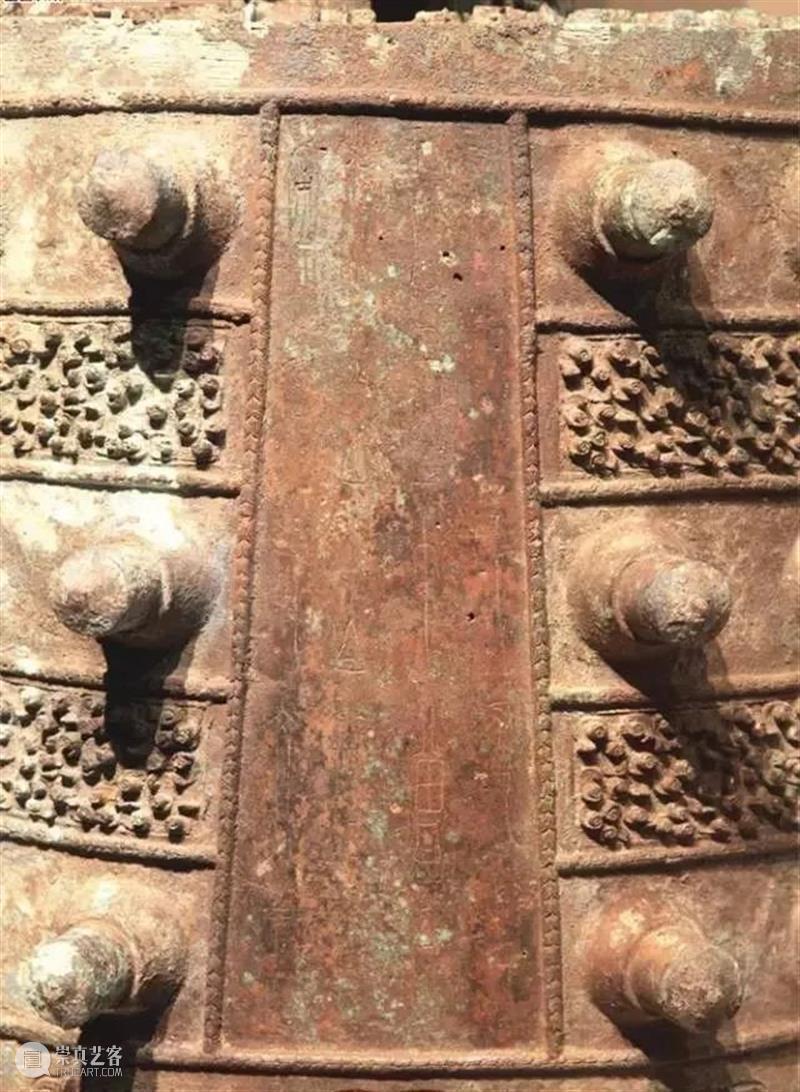 造型精美的古青铜乐器 乐器 青铜 造型 上方 青铜器 账号 人与人 缘份 缘分 韵味 崇真艺客