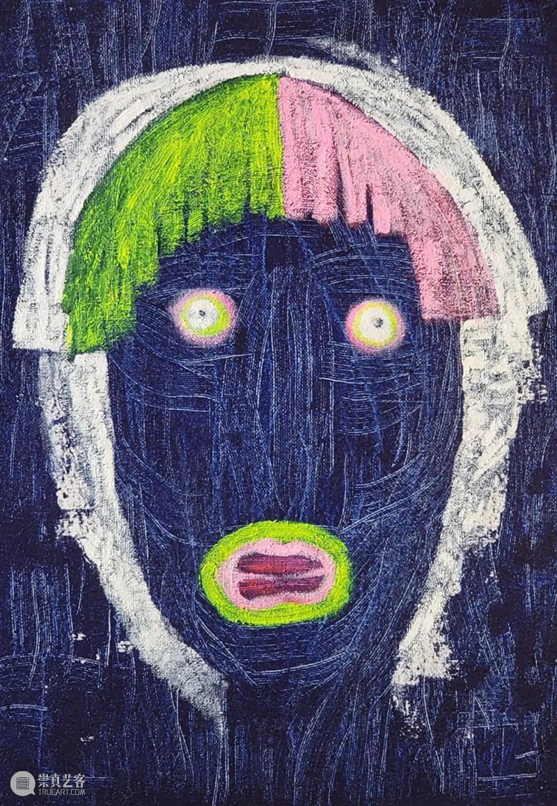 """艺术上海【艺家说】  朱毅:想去""""触动""""与""""被触动"""" 朱毅 艺术上海 world 布面 油画 国内外 品鉴者 作品 绘画 一瞬间 崇真艺客"""