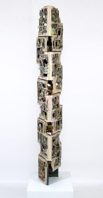 绘画丨书的雕塑家Brian dettmer——将你不看的书,再次创作 绘画 Brian 雕塑家 dettmer 上方 中国舞台美术学会 右上 星标 本文 巨匠 崇真艺客