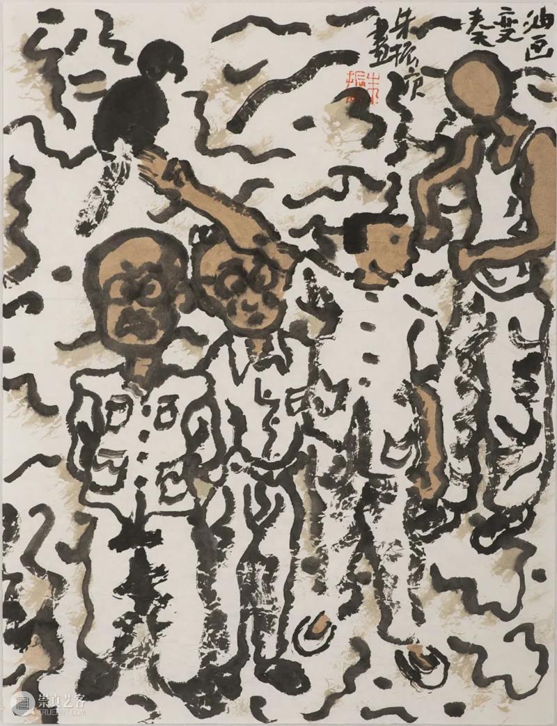 艺术笔记 |  桂子山答问记,朱振庚与女儿对谈 桂子山 朱振庚 笔记 艺术 女儿 先生 初期 节选 上方 中国 崇真艺客