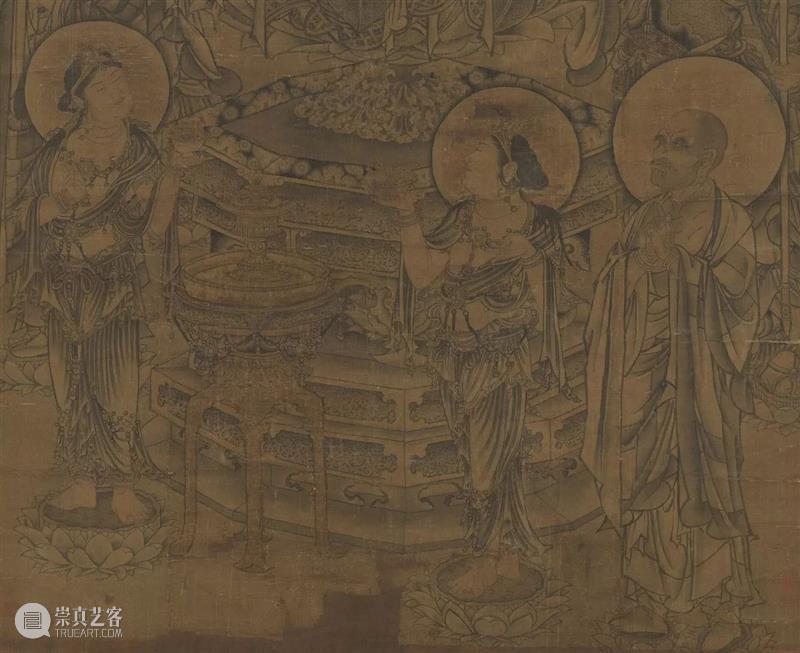 欣赏宋画 ,得用放大镜 放大镜 上方 青铜器 账号 人与人 缘份 缘分 韵味 名片 茶友 崇真艺客