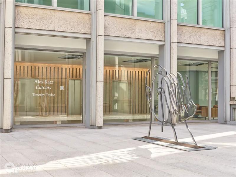 泰勒伦敦 | 亚历克斯·卡茨 Alex Katz「剪贴画」 泰勒 伦敦 亚历克斯 卡茨 Katz 剪贴画 画廊 圣詹姆斯 史密森 广场 崇真艺客