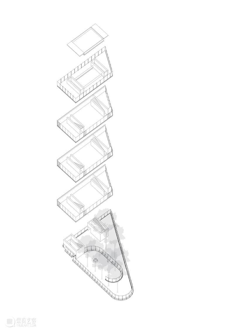 徐甜甜 / DnA 新作:松阳诗文馆,不同透明度的围墙 围墙 透明度 诗文 松阳 徐甜甜 DnA 新作 王子凌 松阳县 城西屏街道 崇真艺客