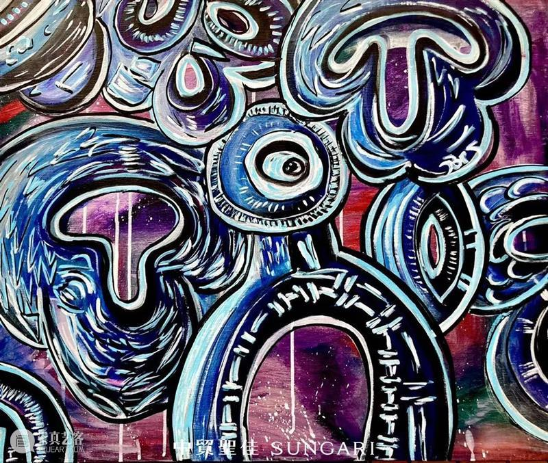 十一佳选Online丨克里斯·库伦格林元宇宙《突变》 虚拟艺术展原作与NFT联合个拍 克里斯 突变 艺术展 原作 NFT Online 库伦 格林 元宇宙 库伦格林元 崇真艺客