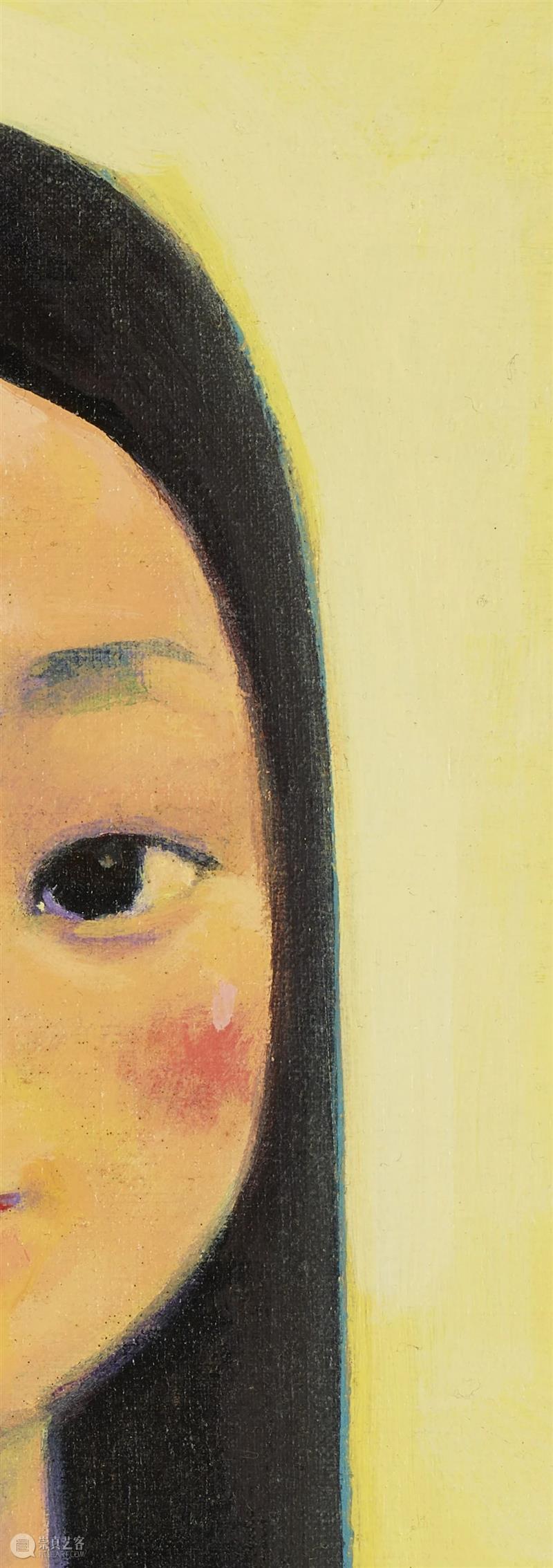 邦瀚斯秋拍 | 罕有肖像佳作:刘野的《她是如此美丽》  邦瀚斯 刘野 肖像 佳作 如此美丽 邦瀚斯秋 美感 形式 邦瀚斯 香港 艺术 崇真艺客