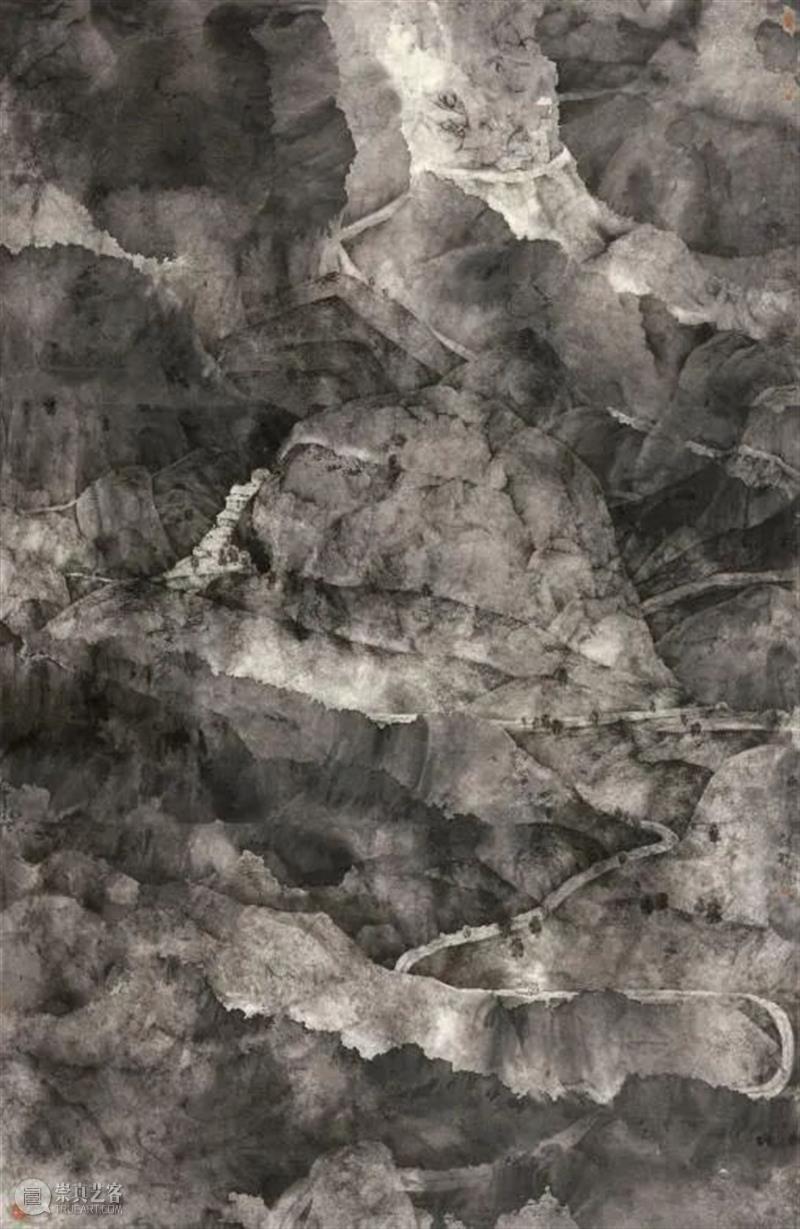 """""""青苔上——庞飞作品展""""将于10月10日在北京画院美术馆开幕  北京画院 青苔 庞飞 作品展 北京画院美术馆 北京画院 上海中国画院 学术 上海 新闻晨报 无上堂 崇真艺客"""