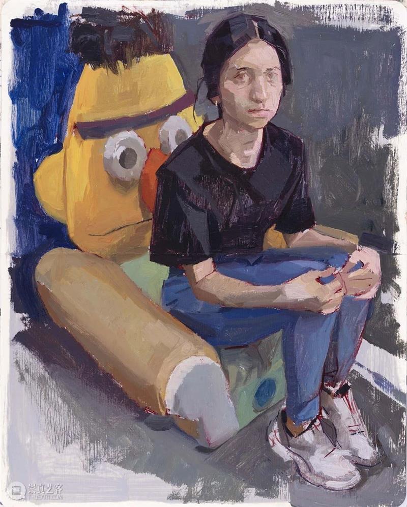 油画的质感真的很独特,爱了 !  学美术,看▷ 油画 质感 END 崇真艺客