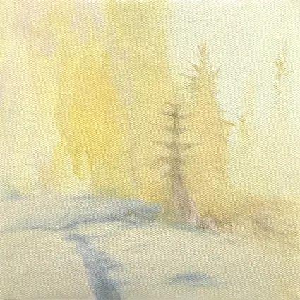 这概括的色彩,爱了爱了  纯灰艺术 色彩 艺术家 油画家 喵尔德 作品 色调 光线 画面 往期 好文 崇真艺客