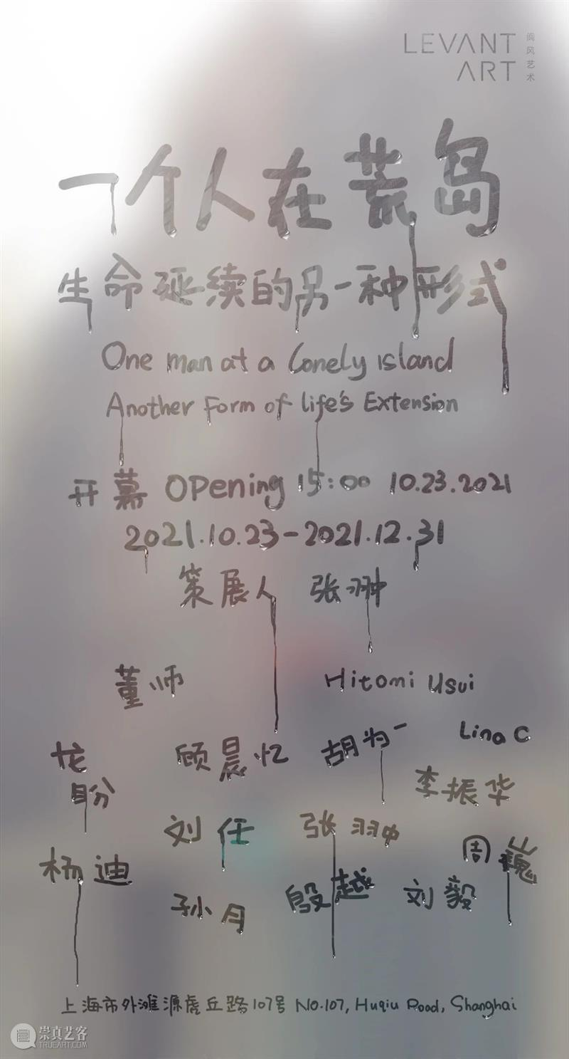 One Man at a Lonely Island: Another Form of Life's Extension  LEVANTART阆风艺术 崇真艺客