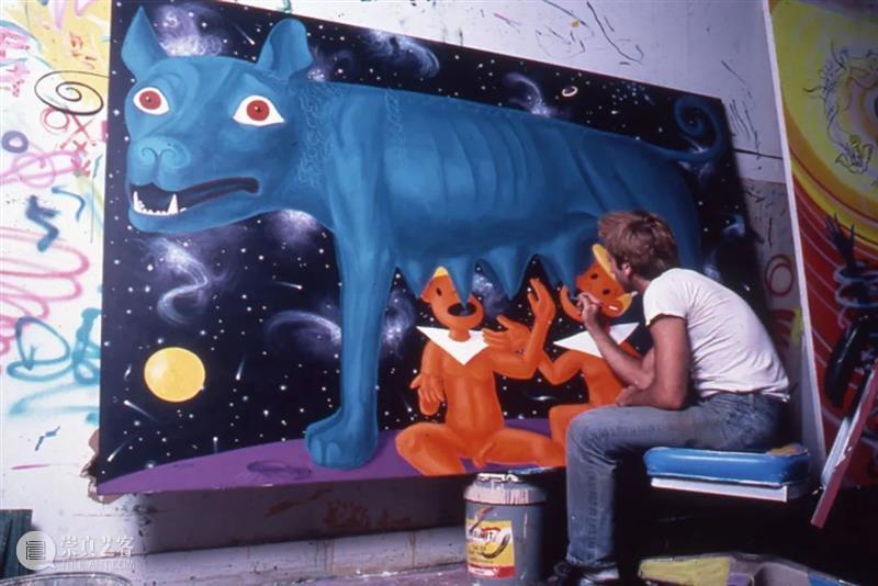 肯尼·沙尔夫(Kenny Scharf):当世界毁灭时|AR艺术家 肯尼 沙尔夫 艺术家 Scharf 当世界毁灭时 肖像 阿尔敏莱希 于加州 好莱坞 纽约视觉艺术学院 崇真艺客