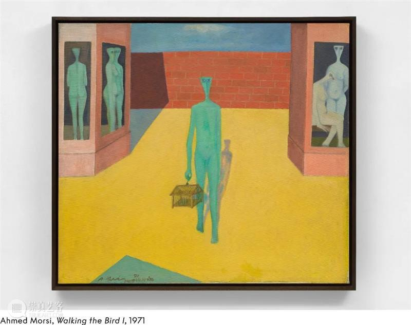 展讯 艾哈迈德·莫西 (Ahmed Morsi) :壁画细节 艾哈迈德 莫西 Morsi 展讯 壁画 细节 纽约 生活 工作 MoMA 崇真艺客