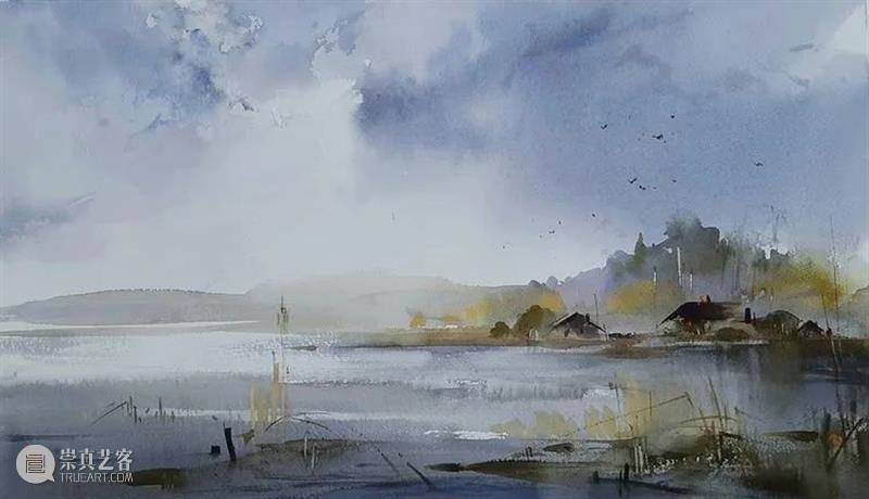 走过的路都是风景 走过的路 风景 俄罗斯 水彩 画家 水彩画 世界 各地 许多美景 作品 崇真艺客