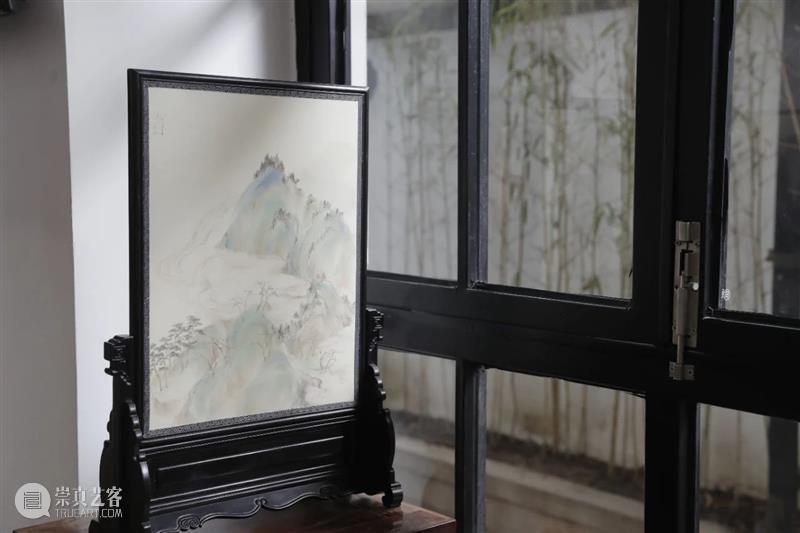 写在《屏风几曲画生姿·特展》落幕之际|雷秀丽 屏风 画生姿 特展 雷秀丽 想法 如今 条件 夙愿 历史 中国 崇真艺客