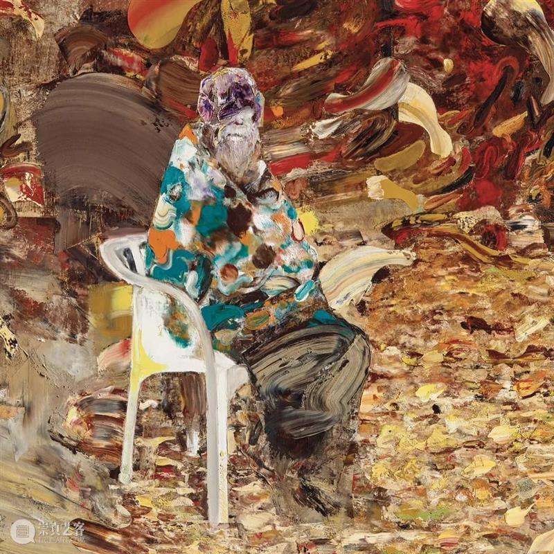 格尼馆藏级巨作《75岁的查尔斯·达尔文》将首次现身亚洲拍场,启发美学哲思之旅 巨作 查尔斯·达尔文》 亚洲 美学 格尼馆藏级 哲思 罗马尼亚 艺术家 艾德里安 格尼 崇真艺客