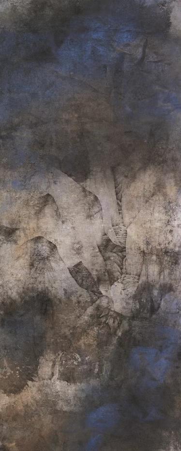 """""""青苔上——庞飞作品展""""于10月10日在北京画院美术馆开幕 青苔 庞飞 作品展 北京画院美术馆 北京画院 上海中国画院 学术 上海 新闻晨报 画展 崇真艺客"""