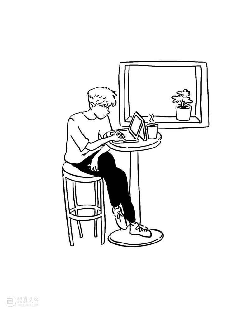 """有些""""简单""""的插画,仔细看却非常有意思 ~ —— enqzijing作品 插画 enqzijing 作品 END 崇真艺客"""