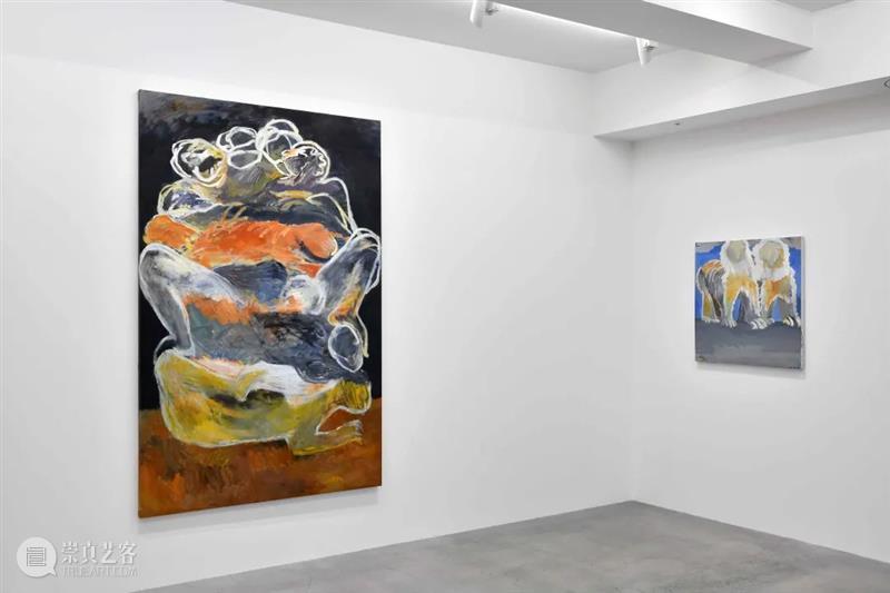 Ota Fine Arts   Artist: Tang Dixin Dixin Ota Fine Arts Artist China Crowd Two Bodies Forest 崇真艺客