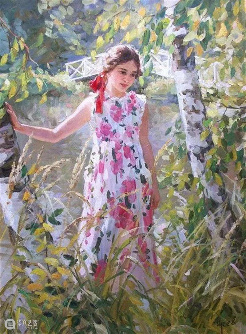 夏日风情 风情 Gusev 莫斯科 莫斯科国立艺术学院 俄罗斯 艺术家 联盟 会员 作品 苏联 崇真艺客
